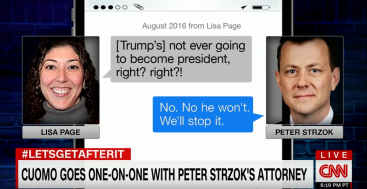 BOMBSHELL: Strzok Admits FBI Let Him Decide Which Texts to Hand Over to DOJ