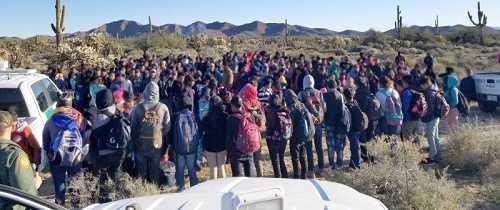 Border Agents Arrest 325 Illegal Aliens as 'Large Group' Entries Skyrocket