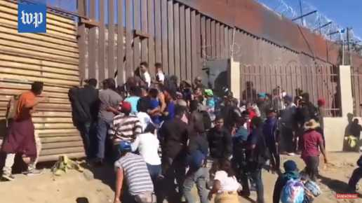 Border Control Arrests 42 Illegals Who Tore Down Wall, Jumped Border