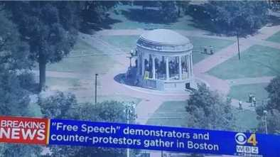 """Boston """"Free Speech Rally"""" Ends Abruptly, 27 Arrested"""