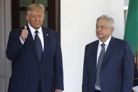 BROMANCE? Trump, Mexico President Meet in DC