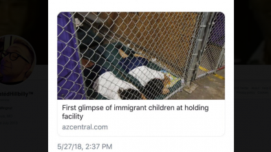 Caged Migrant Children Photo Goes Viral as Left Rage Against Trump