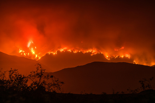 California wildfires photo