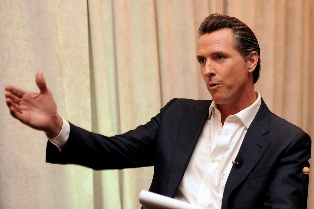 Gavin Newsom photo