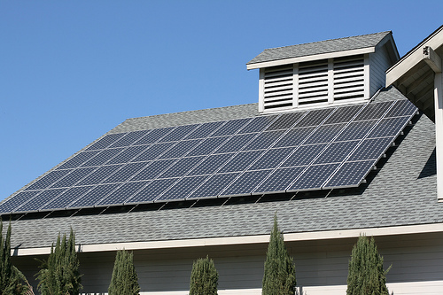 solar roof photo