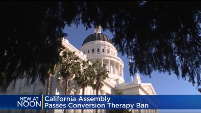 California Passes Bill Banning 'Gay Conversion Therapy'