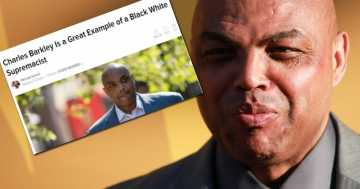 Charles Barkley Is Labeled a 'Black White Supremacist'