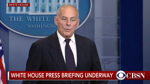 Chief of Staff Kelly: Trump Probably Leaking Staff Chaos Stories