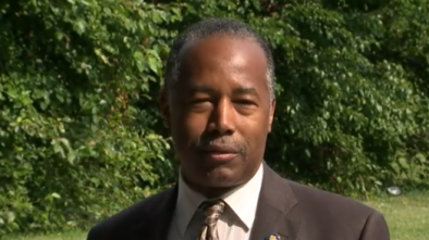 Church Forces Ben Carson Press Conference Off Property in Baltimore