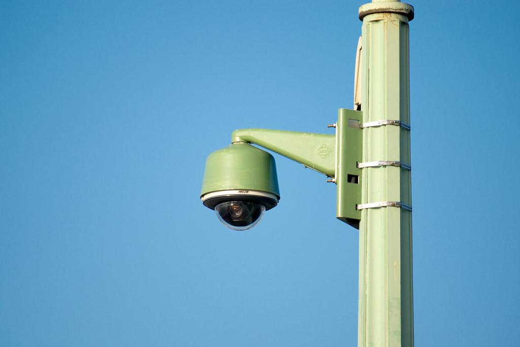 surveillance camera photo