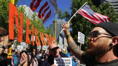 Clashes Erupt Nationwide as Leftists Crash 'March Against Sharia'