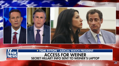 Classified Huma Abedin Emails Found On Anthony Weiner's Laptop 2