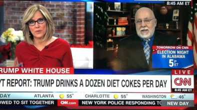 CNN Airs Segment on Trump's Soda Habit While NYC Terror Attack Unfolded