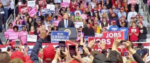 Trump rally - Charlotte