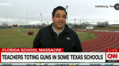 CNN Finally Covers Schools in Texas That Already Arm Teachers