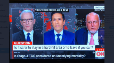 CNN Viewer Asks if Trump Derangement Linked to COVID During 'Town Hall'