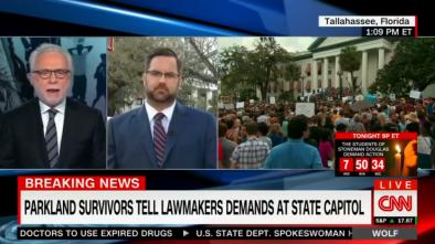 CNN's Blitzer Grills GOP Rep: 'When' Will GOP 'Ban Assault Weapons?'