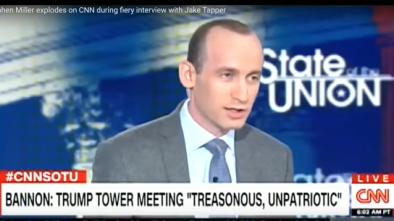CNN's Jake Tapper Cuts Off Interview w. Trump Adviser Stephen Miller