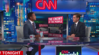 CNN's Jim Acosta and Don Lemon Claim Their Network Isn't Anti-Trump