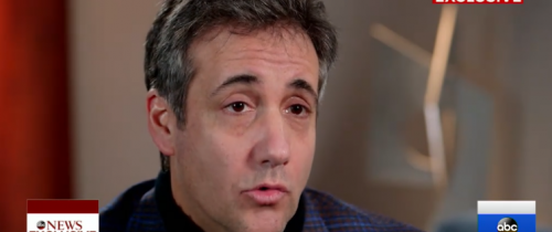 COHEN: Trump Knew Hush-Money Payments Were Wrong