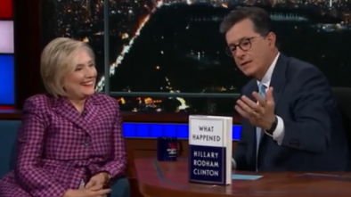 COLBERT: Hillary Believes in the Constitution, Not Trump