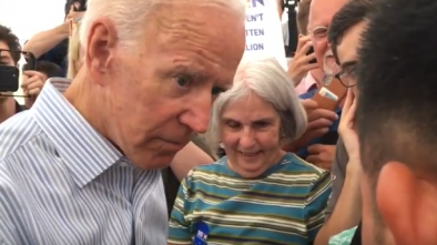 Confronted by Mob, Biden Apologizes for Deporting Criminal Illegals