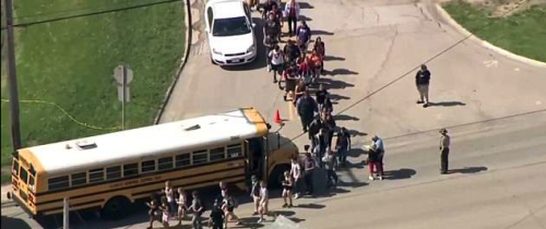 Cop with a GUN Prevents Another Mass School Shooting