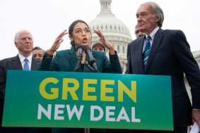 Cowardly Dems Vote 'Present' After Saying They Support the Green New Deal