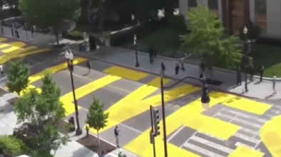 D.C. Mayor Orders Public Works to Spray Paint 'Black Lives Matter' on City Street