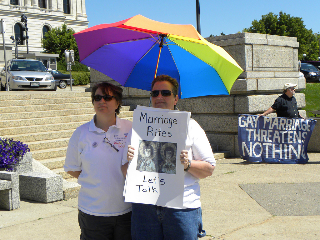 Opposers of gay marriage
