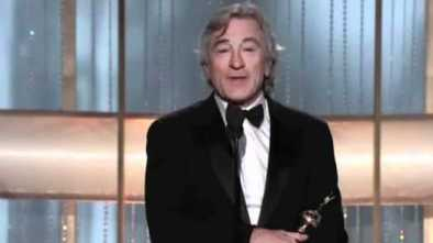 De Niro Calls Trump 'Jerk-Off-in-Chief,' 'F**king Fool'