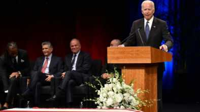 Dem Biden Eulogizes Friend John McCain as 'Giant among All of Us'