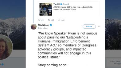 Dem Hypocrisy: They'll Vote AGAINST their Own Bill to Abolish ICE