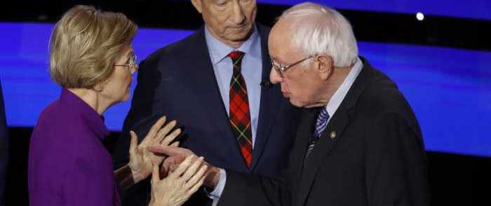 Dem. Operatives Warn Warren, Sanders Against Attacking Their Own