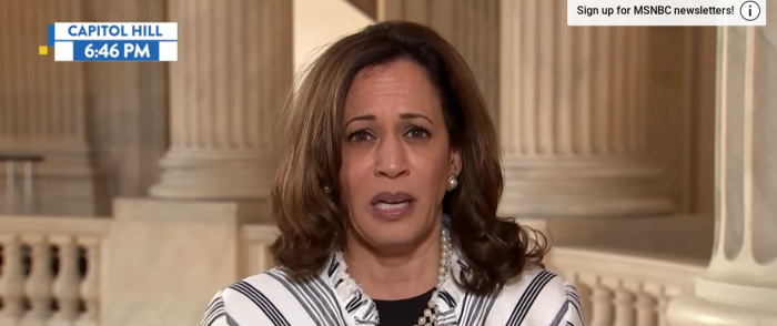 Dem Sen Harris: Trump's Guilty of 'Crimes Against Humanity' on Border