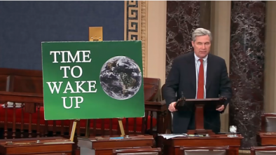 Dem Sen. Whitehouse: Opponents of Climate Change Guilty of Sin
