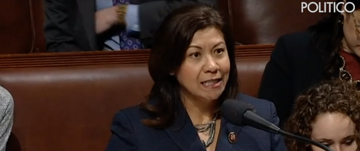 Democrat Rep.'s Sexist Slur at Male Colleagues Triggers Outrage on House Floor
