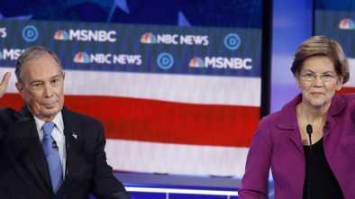 Democratic Candidates Focus Attacks on Bloomberg, Sanders at Las Vegas Debate