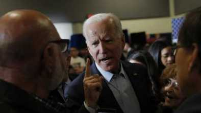 Desperate Joe Biden Torques Up Anti-Trump Alarmist Rhetoric in Vegas