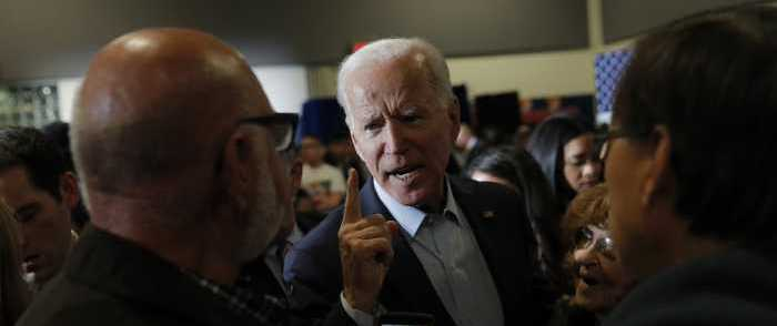 Desperate Joe Biden Torques Up Anti-Trump Alarmist Rhetoric in Vegas