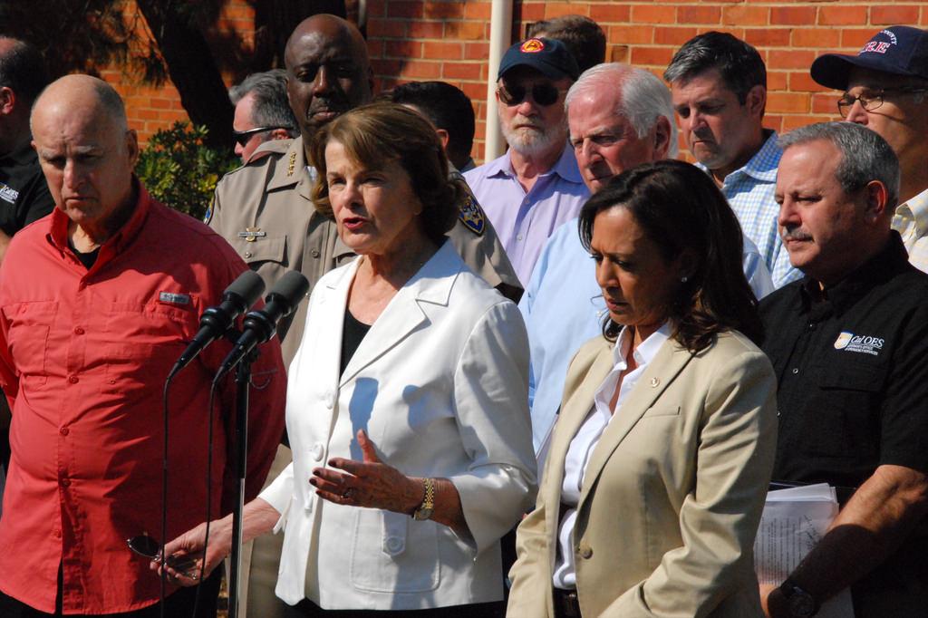 Senator Diane Feinstein 2017 photo