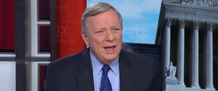 Dick Durbin After Reading GND: 'What in the Heck is This?'