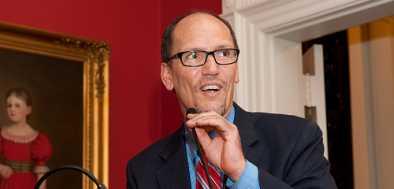 DNC Chair Perez: 'Trump Didn't Win The Election'