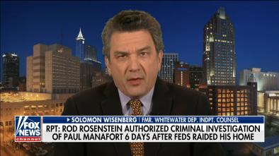 DOJ Authorized Mueller to Investigate Manafort -- AFTER FBI Raid