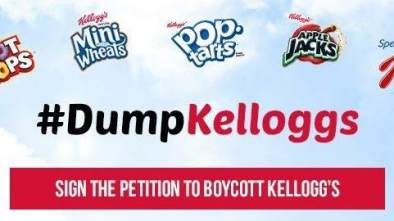 Yahoo! Finance on #DumpKelloggs: 'Cereal Should be Agnostic'