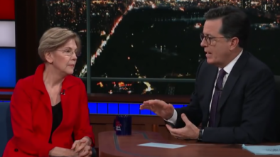 Elizabeth Warren doesn't condemn Franken