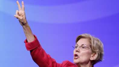 Elizabeth Warren Sneers Biden: a 'Candidate' Democrats 'Don't Believe in'