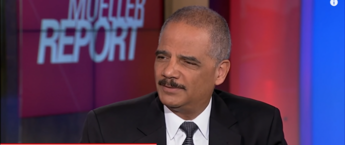 Eric Holder Mocks Trump Supporters: 'Exactly When Did You Think America Was Great?'