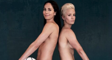 ESPN Features Lesbian Couple For the First Time in Its Body Issue
