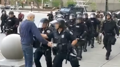 Evidence Shows Elder Buffalo 'Protestor' Is a Professional Activist, Likely Antifa